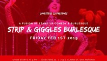 Strip and Giggles Burlesque - A Fusion of Stand Up Comedy & Burlesque