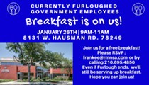 Government Furlough Employees: Free Breakfast