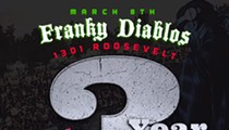 Franky Diablos 3 year anniversary party