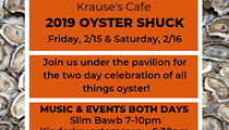 Krause's Cafe and Biergarten Presents 2019 Oyster Shuck