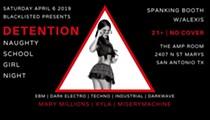 Blacklisted Presents: Detention - Naughty School Girl Night