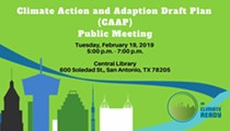 Climate Action and Adaption Draft Plan Public Meeting