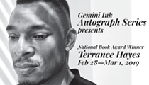 Gemini Ink Autograph Series with Terrance Hayes