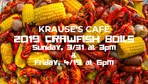 Crawfish Boil at Krause's Cafe
