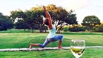 """Wine Down Yoga"" at Windflower Spa"