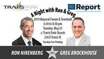 A Night with Ron and Greg: Mayoral Run-Off Forum/Town Hall