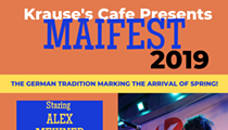 Krause's Café and Biergarten Presents Alex Meixner During Maifest