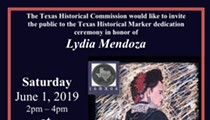 Lydia Mendoza Historical Marker Ceremony & Birthday Celebration