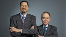 Magician Duo Penn & Teller Bringing Comedy, Illusions to the Majestic