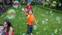 Annual Family-Friendly Bubble Fest Brings Fun to Chris Park