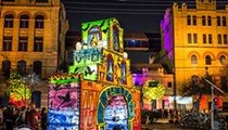 Luminaria Returns to Hemisfair This Saturday with Meditation Temple, Giant Twister Game and More