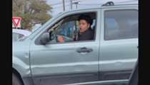 Twitter Asking San Antonio to Help Identify Suspect Seen Hitting Woman While Driving
