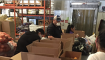 Controversial Events Firm Delivers 235 Boxes To San Antonio Food Bank. Only 749,765 To Go!