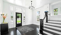 This Stylish Mansion for Sale in San Antonio Is Decorated in All Black and White