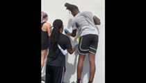 San Antonio Spurs' Lonnie Walker Helps Clean Up Mess Left by Vandals After Peaceful Protest