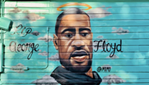 East Side Restaurant Big Poppas Tacos Memorializes George Floyd with New Mural