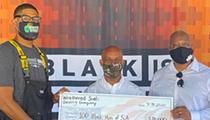Weathered Souls Brewing Co. Donates $20,000 to Nonprofit 100 Black Men of San Antonio