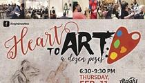 HEART to ART: A Dozen Poses
