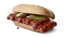 McDonald's is giving away McRib sandwiches to folks who remove their No-Shave November beard