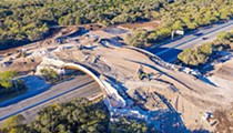 $23 million land bridge in San Antonio's Hardberger Park set to open next week