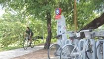 Walk or Bike Through Downtown