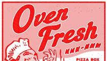 Art Inside the Pizza Box: Black Moon Gallery's 'Oven Fresh'