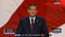 Ted Cruz Snubs Trump in GOP Convention Speech, Gets Booed Off Stage