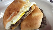 San Antonio 100: Panchos and Gringos' Badass Steak and Egg Breakfast Sandwich