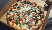 Get the Popeye at Yaghi's New York Pizzeria