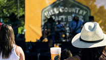 This weekend's Hill Country Craft Beer Festival in Gruene will serve samples of 100 different suds