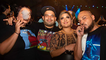 All the party people we saw at Snoop Dogg's San Antonio concert on Friday