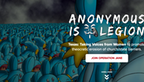 Days after attack by hacking group Anonymous, the Texas Republican Party's website is still down