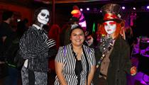 All the people we saw having spooky fun at San Antonio's Burton Ball