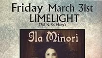 Ila Minori, Shane Cooley & The Midnight Girls, Claudine Meinhardt
