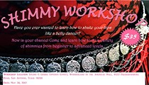 Dynamic Shimmy Workshop By Mystical Goddess Belly Dance