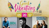 Win one of two pairs of tickets to the Good Vibrations Music & Arts Festival!
