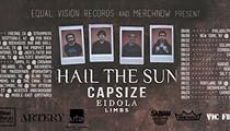 Hail The Sun, Capsize, Eidola, Limbs, Televangelist, Marila Voe