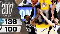 Kawhi-less Spurs Lose Big in Game 2