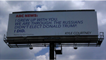 Boerne Man Breaks Up With ABC News On a Billboard