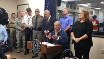 "Gov. Abbott Says Border Patrol Won't ""Hamper Evacuation Efforts"""