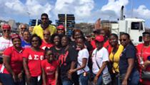 Tim Duncan in U.S. Virgin Islands for Hurricane Irma Relief