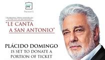 Placido Domingo le Canta a San Antonio