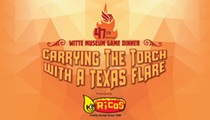 47th Annual Game Dinner: Carrying the Torch with a Texas Flare