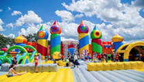 World's Biggest Bounce House is in San Antonio This Weekend
