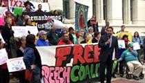 Activists March Against San Antonio's Pricey Protest Policies