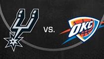 San Antonio Spurs vs. Oklahoma City Thunder