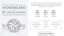 Diamonds Direct Exclusive Designer Holiday Trunk Show