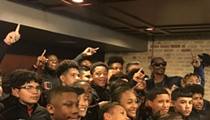 Snoop Dogg, Youth Football, and Barbecue: Just An Average Wednesday in San Antonio