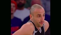 Manu Ginobili Tried Passing the Ball to LaMarcus Aldridge and Ended Up Scoring