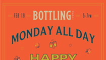 Monday All Day Happy Hour with DJ Steven Lee Moya Feb. 19